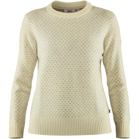 Fjällräven Övik Nordic Sweater Women chalk white